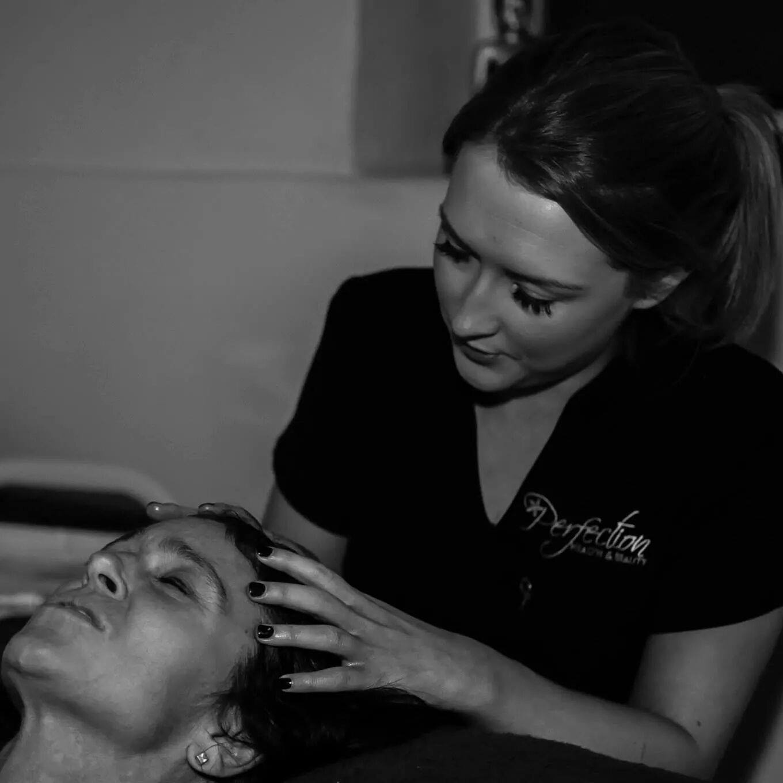 India on Scalp and Eye Massage