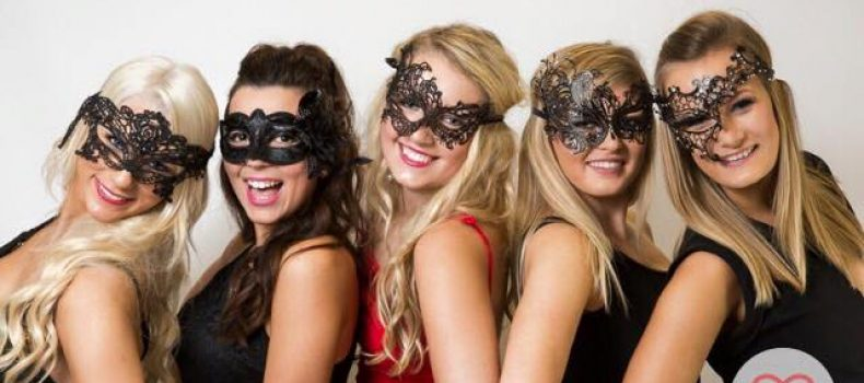 The Perfection girls get suited and booted for charity!