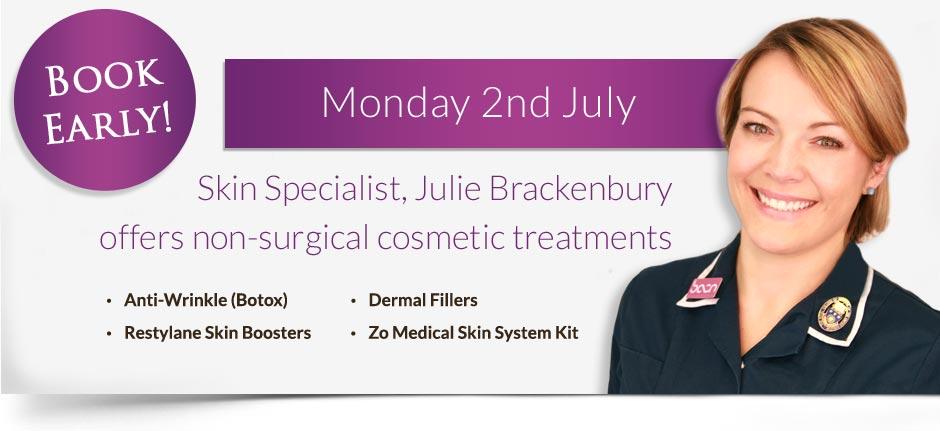Julie Brackenbury 2nd July 2018