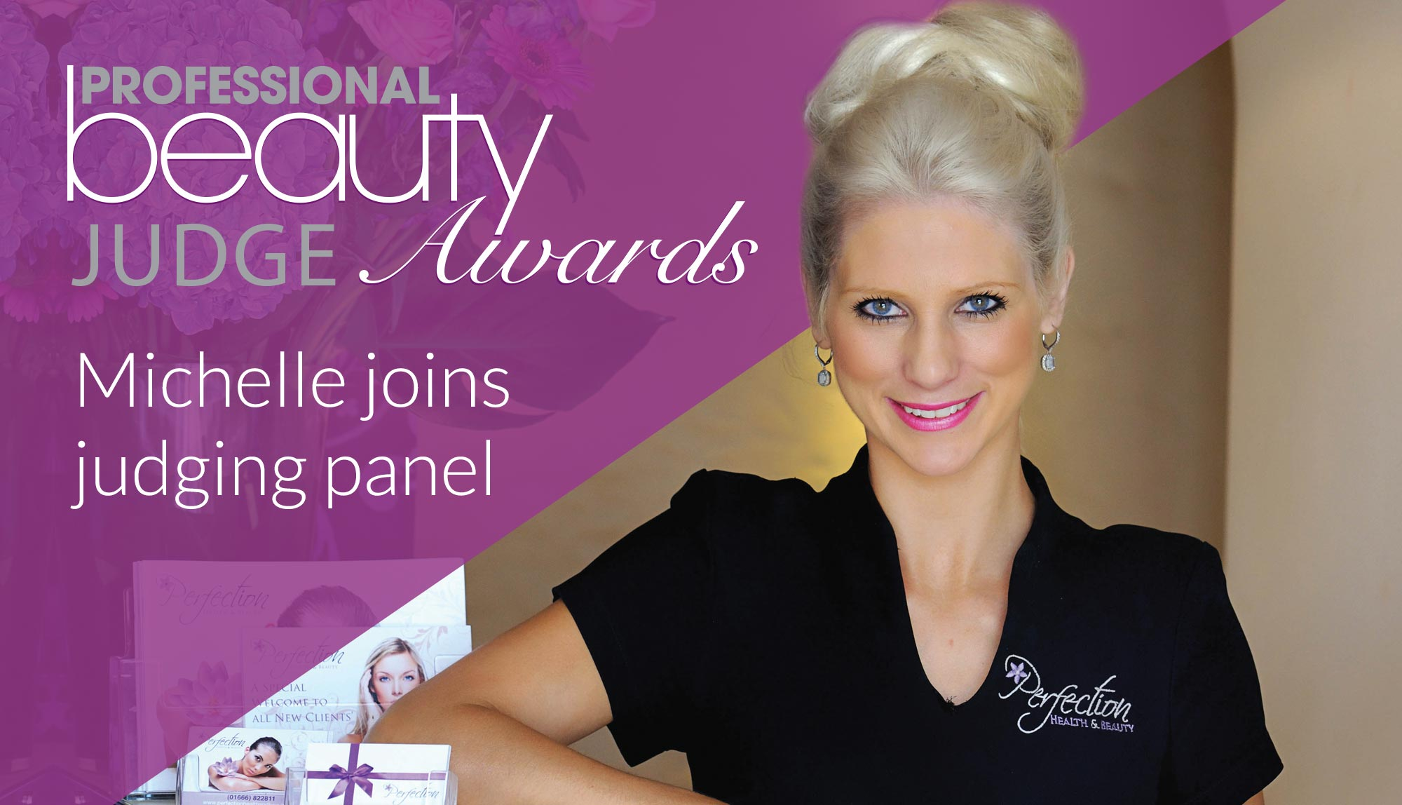 Michelle Stead - National Beauty Judge